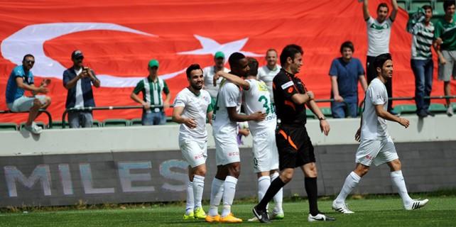 Bursaspor 'Antep'i sevdi