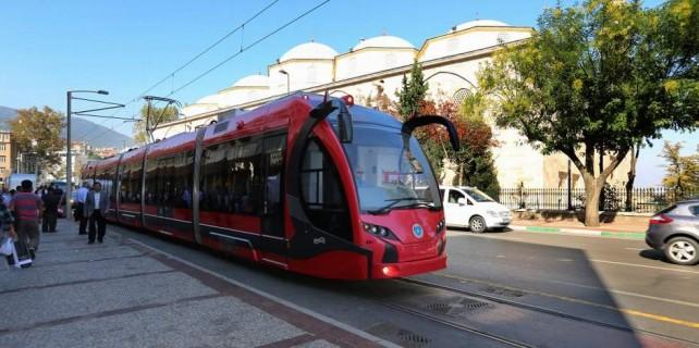 Bursa'da tramvayın geçtiği caddeler ihya olacak