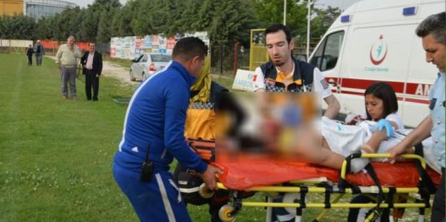 Bursa'da acı kaza...Dayan Ekrem...