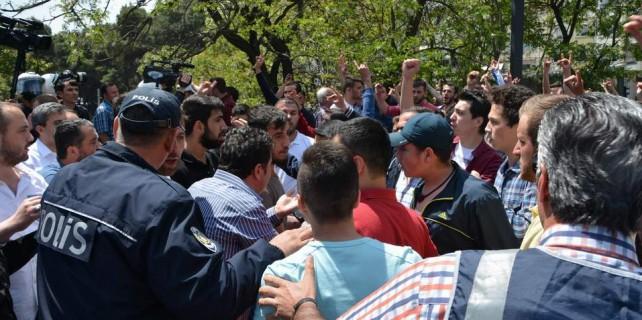 HDP'nin Bursa mitinginde kriz