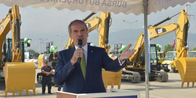 Bursa'nın yollarına 100 trilyonluk asfalt