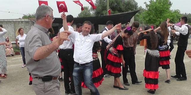Bursa'da hıdrellezi böyle kutladılar