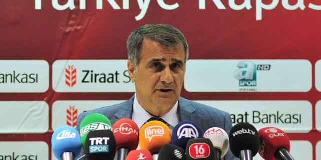 İşte Şenol Güneş'in Beşiktaş'a cevabı
