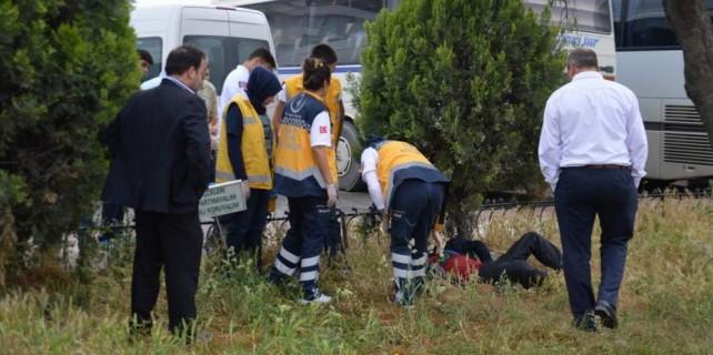 Burası Bursa... Ağacın altında koma halinde bulundu