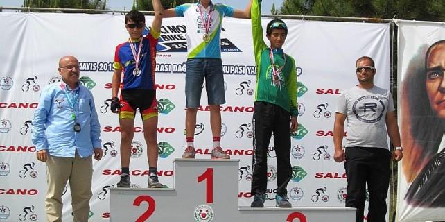 Dağ Bisikleti Yarışları'na Nilüfer damgası