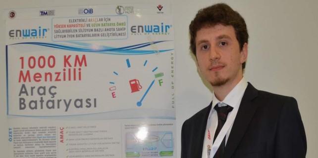 Elektrikli otomobiller için müthiş gelişme...Bursa'da ödül aldı
