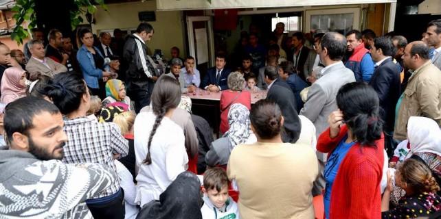 Başkan Dündar kentsel dönüşümü mahalle sakinlerine böyle anlattı