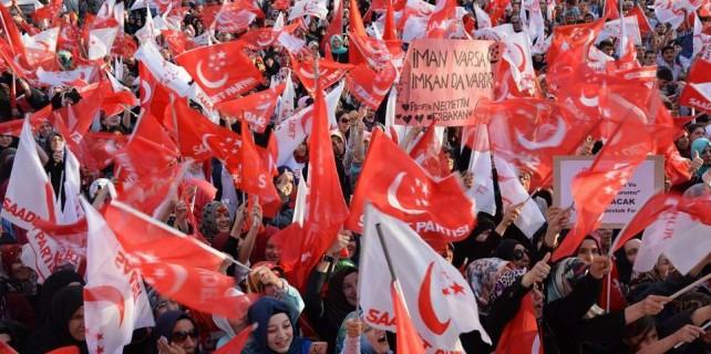 Bursa'da milli ittifak mitingi
