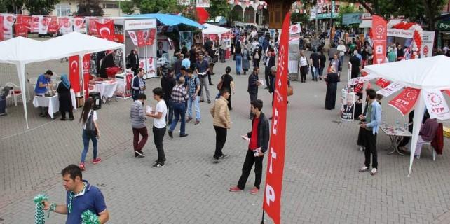 Bursa'da 6 partinin kardeşliği