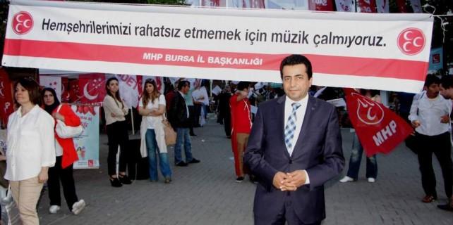 MHP'den Bursa'da örnek davranış