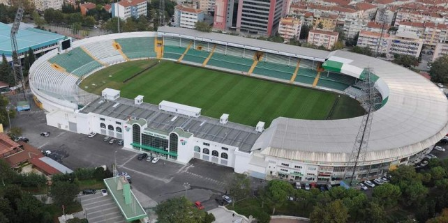Bursa'ya milli maç