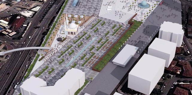 Bursa gerçek Kent Meydanı'na kavuşacak