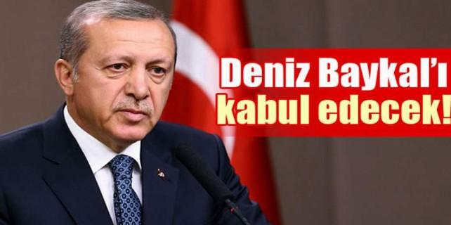 Başbakan Deniz Baykal'ı kabul edecek