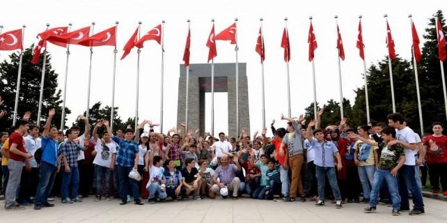 18 bin öğrenci Çanakkale'yi gezdi