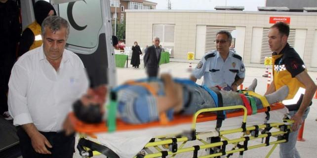 Bursa'da iş kazası...Can pazarı yaşandı
