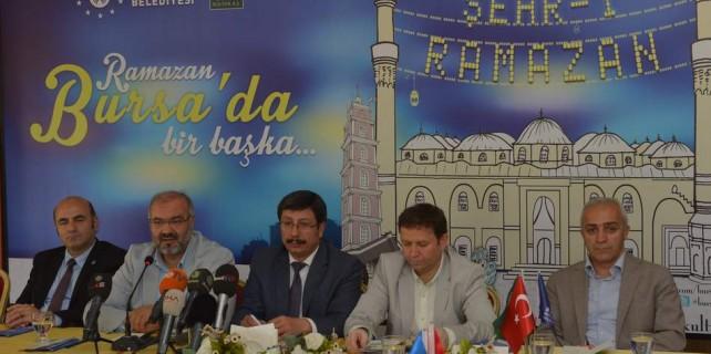 Bu Ramazan da Bursa'da dolu dolu yaşanacak