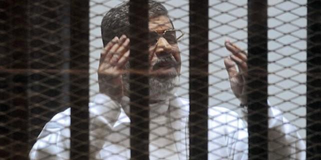 Mursi'ye mübbet kararı..!