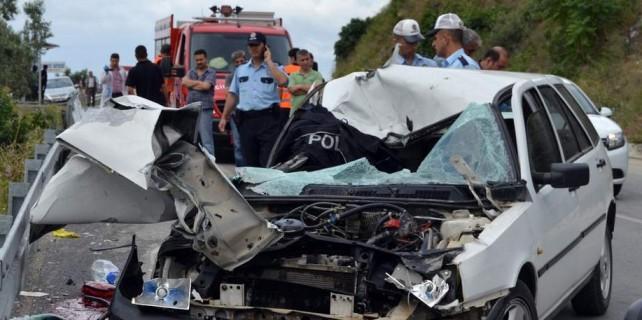 Bursa'da polis memuru kaza kurbanı