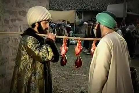 Sırtında kaftanla ciğer satan Bursa Kadısı