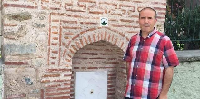 Bursa'da tarihi çeşmeler kurudu