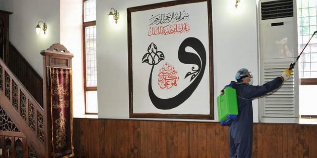 Bursa'da camilere Ramazan temizliği