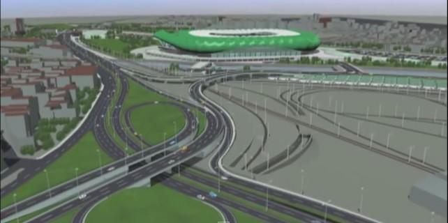 Timsah Arena için yeni yollar