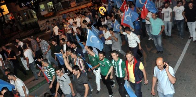 Teksas Doğu Türkistan için yürüdü