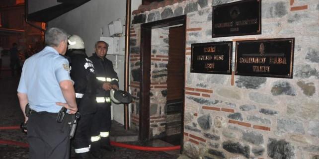 Bursa'da geceyarısı aşevi yangını