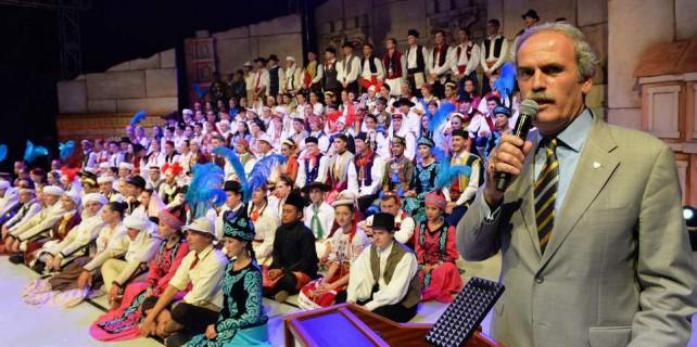 Altın Karagöz'de 18 ülkeden dünyaya barış mesajı