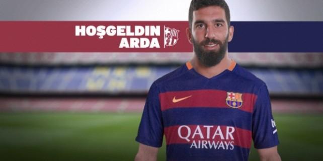 Barcelona tarihine geçti