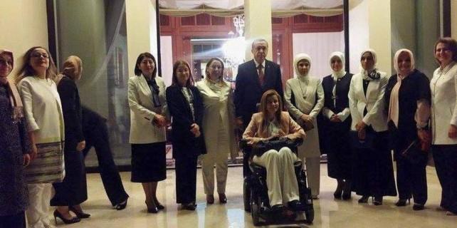 Tayyip Erdoğan'dan kadın vekillere sürpriz