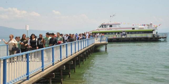 İznik Gölü'ndeki seferler bayramda ücretsiz