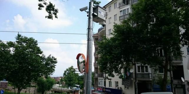 Bursa'da artık bu sokaklarda da mobese var