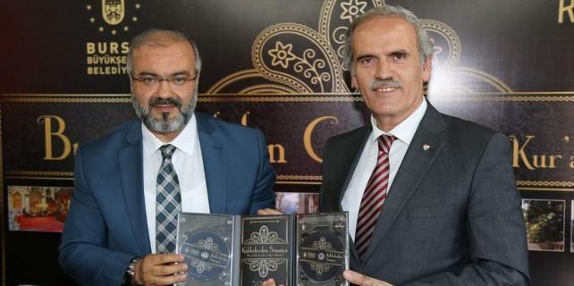 Bursa'da kubbelerden semaya