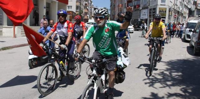 Bursa'dan 1600 kilometre pedal çevirecek