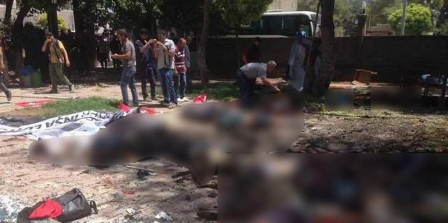 Suruç'ta büyük patlama: En az 27 kişi öldü