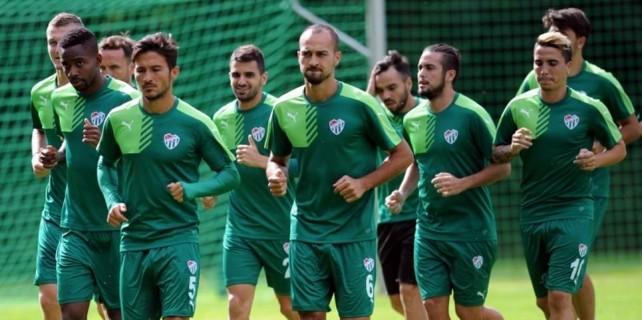 Bursaspor hücum savunma çalıştı