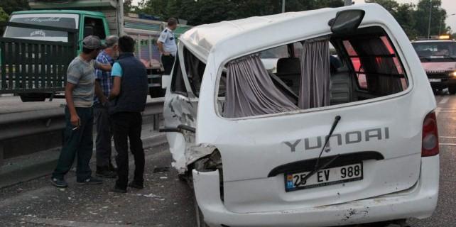 Bursa'da zincirleme kaza...