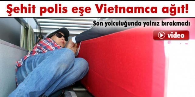 Şehit eşe Tayland'ca ağıt