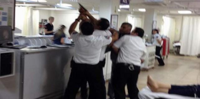 Hastaneye silahlı baskın