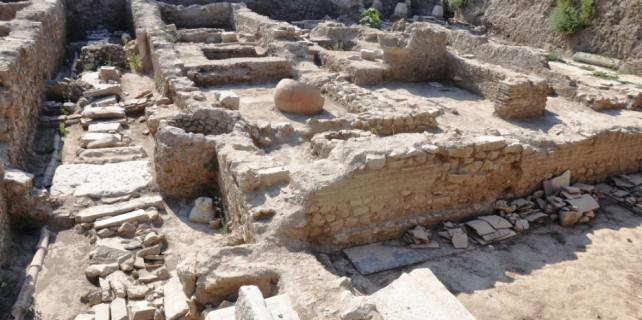 Bursa'da 1100 yıllık şapel bulundu