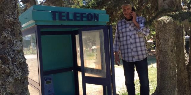Uludağ'da cep telefonları iptal!