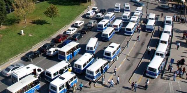 Doğu hattındaki minibüsler kalkıyor..!