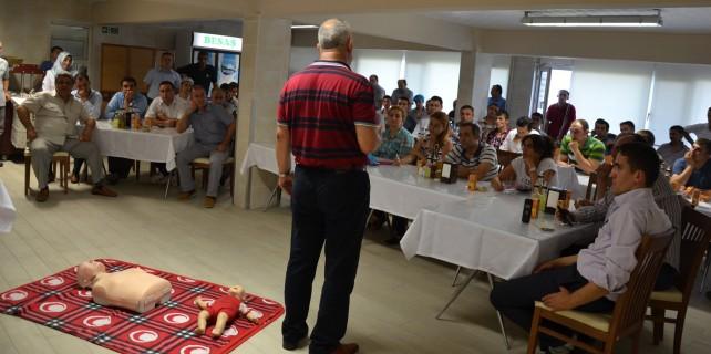 Besaş' tan personeline ilk yardım eğitimi