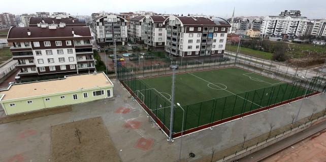 Millet Mahallesi'ne 5 yıldızlı spor tesisi