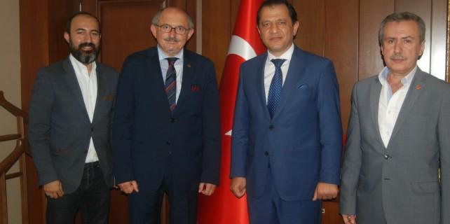 TSYD Bursa'dan Emniyet Müdürü Yıldız'a ziyaret