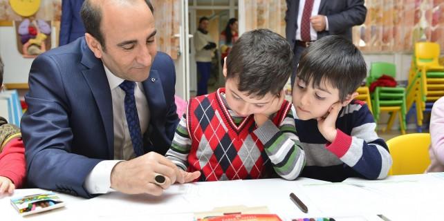 Çocukların evi Yıldırım Belediyesi kreşi