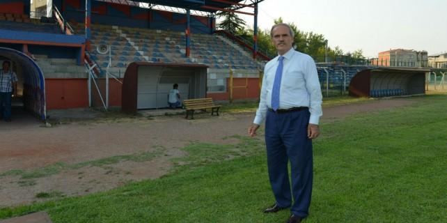 Spor tutkunu Altepe bir stadı daha ihya etti