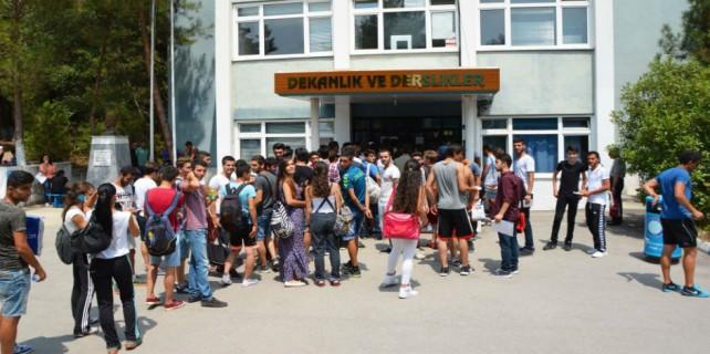 Uludağ Üniversitesi'ne başvuru kuyruğu