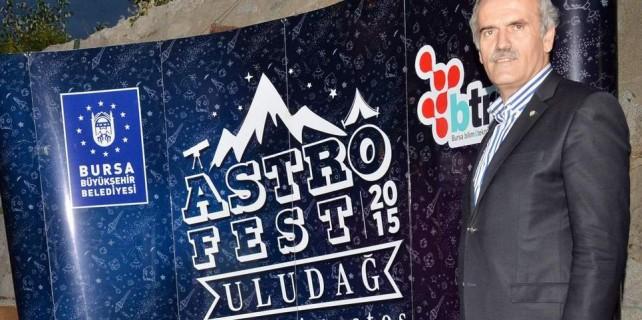 Astrofest tutkunları Uludağ'da buluştu